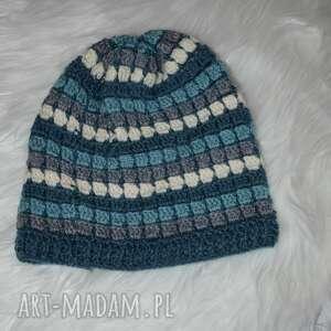 kolorowa czapka, boho, folk, stylbohofolk, prezent, ciepłazima, awangarda czapki
