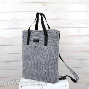 242e006363ffc ... plecak worek 2w1 003, torba, plecak, laptop, prezent, unisex, szary
