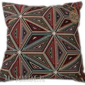 poduszka wielokolorowa, geometryczna color