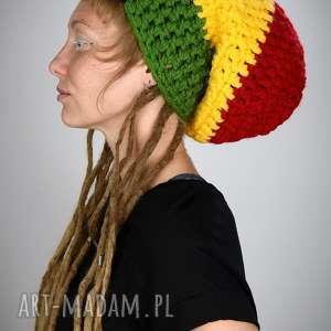dreadlove rasta, dready, dredy, czapka, reggae, rastaman