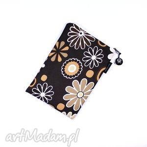 handmade etui tabletnik::na brązowym