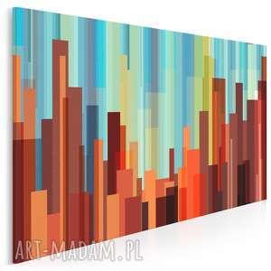 obraz na płótnie - kreski kolory 120x80 cm 26701, kreski, żywioły, ogień