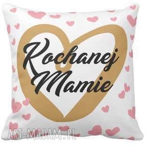 handmade poduszki poduszka na prezent serce dla kochanej mamy dzień matki 6759