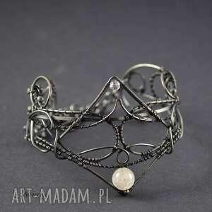bransoletki quartz queen - bransoletka z kwarcem i kryształem górskim