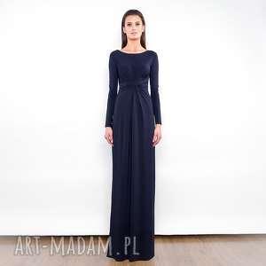 Cristina maxi black sukienki milita nikonorov długa, wieczorowa,