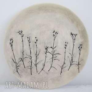 roślinna patera ceramiczna, roślinny, talerz, ceramiczny, dekoracyjny, ekologiczny