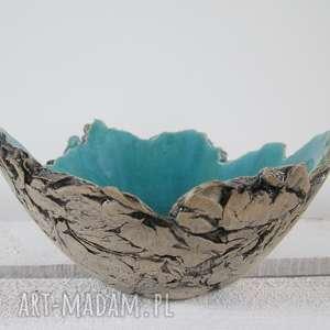 Sardynia artystyczna miseczka rozmiar S - ,miska,dekoracyjna,ozdobna,jak-skała,