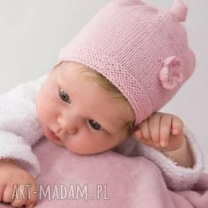 Czapka Oia, letnia, niemowlęca, bawełniana