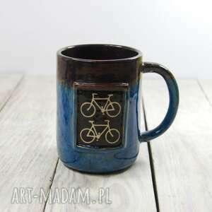 ceramika kubek rower, ceramiczny, do kawy, herbaty, prezent