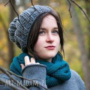 Czapka handmade, czapka, wełna, zrobiona-na-drutach, ciepła