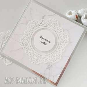 zaproszenie ślubne - marmurek, ślubne, zaproszenia na ślub