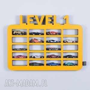 półka na resoraki organizer na samochodziki garaŻ level1 - półka