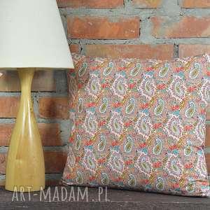 Prezent Poduszka dekoracyjna wzór paisley 40x45cm, poszewka, dekoracja, bawełna