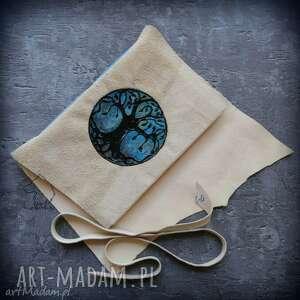 wolfpath studio notes a5 ze skórzaną miękką okładką drzewo życia - ręcznie robiony i
