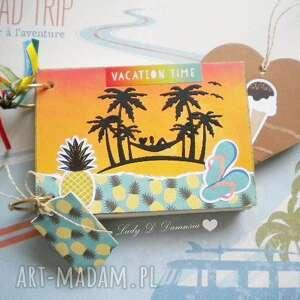 Notatnik/szkicownik/pamiętnik na wakacje dla Niej:), wakacje, podróże, travel