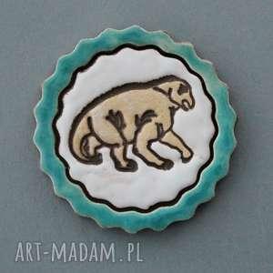 magnesy dino-magnes ceramiczny, prezent, upominek, drobiazg, lodówka, dinozaur
