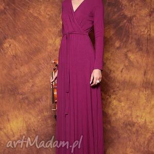 Długa kopertowa suknia Opus X, sukienka, suknia, wieczorowa, elegancka, biskupi