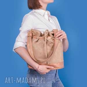na ramię yocca - torba worek orzech, listonoszka, worek, prezent, wyjątkowa