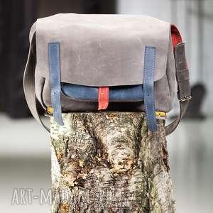 teczki torba skórzana navahoclothing, podróżna, skórzana, do szkoły