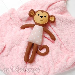 hand-made zabawki małpka