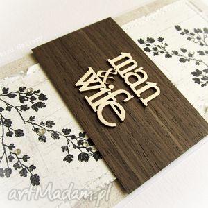 hand-made scrapbooking kartki jesienna kartka ślubna