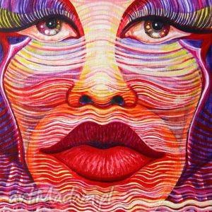 pi art 40 stopni w cieniu, kobieta, portret, lato