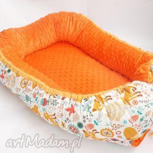 pokoik dziecka kokon niemowlęcy, minky, bawełna, kokon, łóżeczko, spanie, unikalne