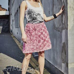 rosa 3d - róża, różowe, 3d, spódnica, lato, wygoda