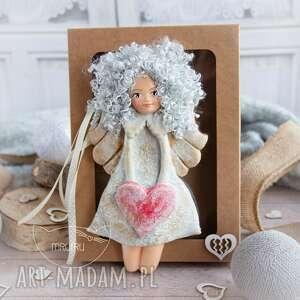 mrufru przepiękny anioł stróż personalizowany podarek na każdą okazję chrzest