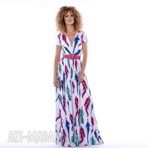 sukienki lorita - sukienka boho, piórka, letnia, elegancka, oryginalny prezent