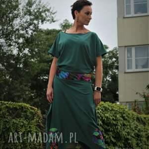 prezent na święta, motyl-sukienka, boho, zielona sukienka, maxi etno