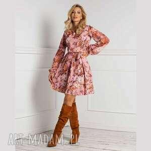 sukienka ibbie mini sybilla, mini, zwiewna sukienka, jesień