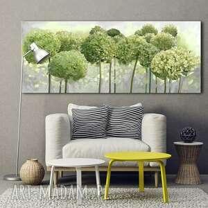 Obraz drukowany na płótnie kwiaty hortensji ogrodowej -format