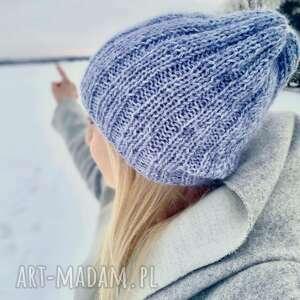Czapki the wool art czapka, nadrutach, lekka wełnianaczapka,