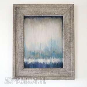 ABSTRAKCJA-obraz akrylowy formatu 40/50cm, abstrakcja, obraz, akryl