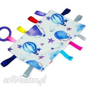 zabawki metkowiec sensoryczny, metkowiec, szmatka, sensoryczna, niemowle