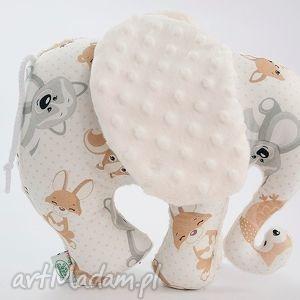 Słoń MISIAKI ekri, słoń, maskotka, przytulanka
