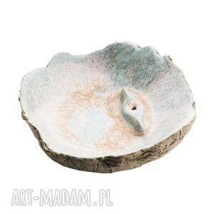 ręczne wykonanie ceramika podstawka pod kadzidełka