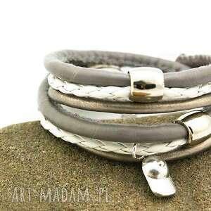 bransoletka owijana, bransoletka, oplatana, rzemienie, ekologiczne