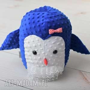 przytulanka dziecięca pingwin mama - pingwin-poduszka, pingwin-hand-made