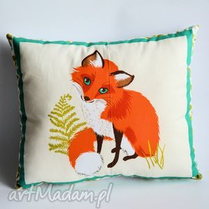 poduszka leśna - lisek - lisek, poduszka, las, dziecko, sypialnia, przyroda