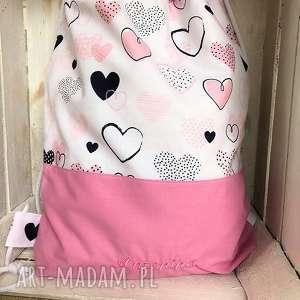 bawełniany worek plecak dla tosi, worek, plecak, bawełniany, szkoły, przedszkola