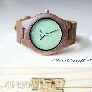 zegarki damski drewniany zegarek walnut zircon, z cyrkoniami