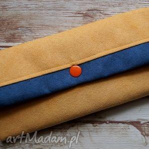 ręcznie wykonane portfele portfelik z ekozamszu