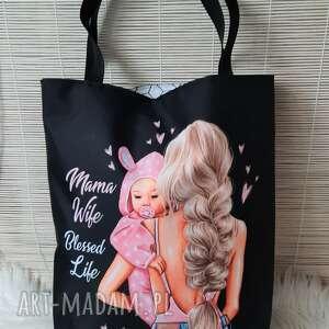 torba shopperka na dzień matki, torba, worek, shopperka, prezent, dzień