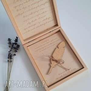pudełko dla nauczyciela z życzeniami i zakładką, pudełko, dzień