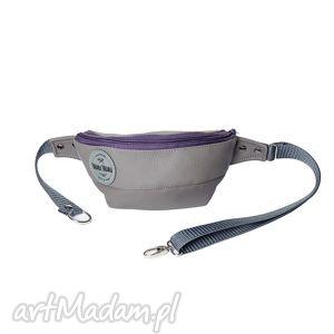 Nerka Grey Purple, saszetka, szara