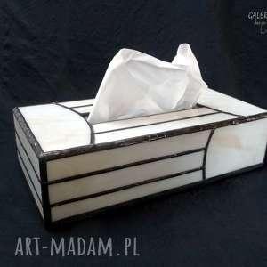 Prezent Niezwykły użytkowy PREZENT handmade. Pudełko na chusteczki w modnym stylu Art