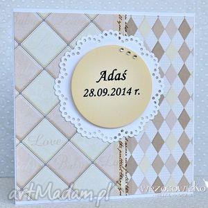 scrapbooking kartki chrzest, narodziny - personalizacja, kartka, narodziny, chrzest