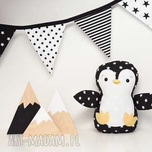 maskotki pingwin, pingwinek, zabawka, maskotka, przytulanka, ptak